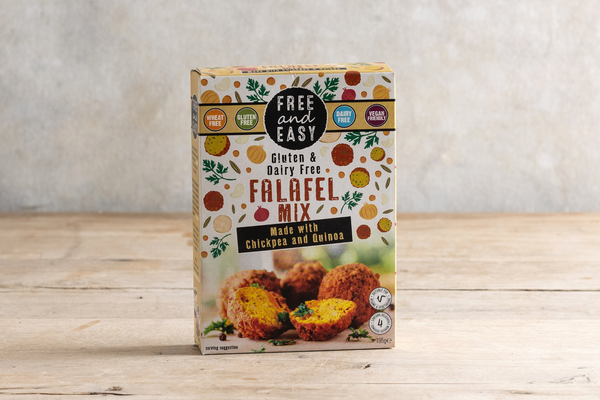 Free and Easy Gluten & Dairy Free Falafel Mix