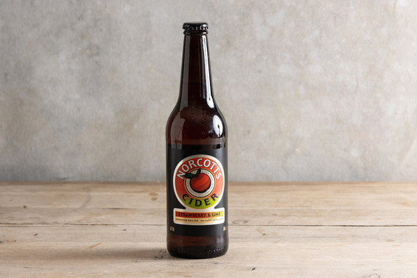 Norcotts Cider Strawberry & Lime