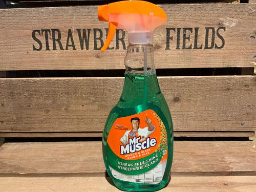 Mr Muscle 5 in 1 Glass Green