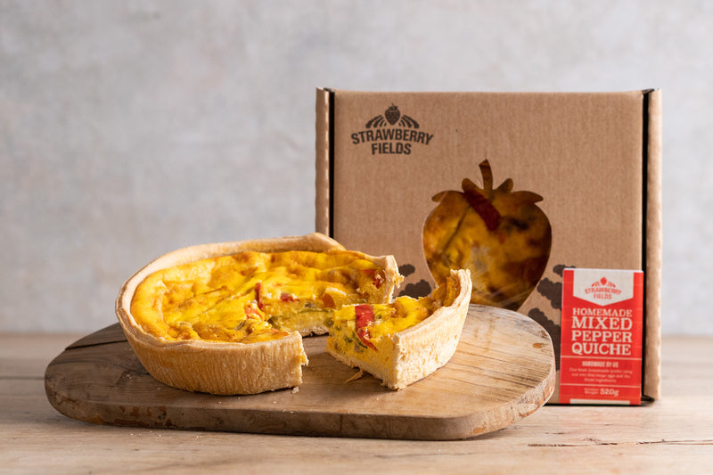 Mixed Pepper Quiche