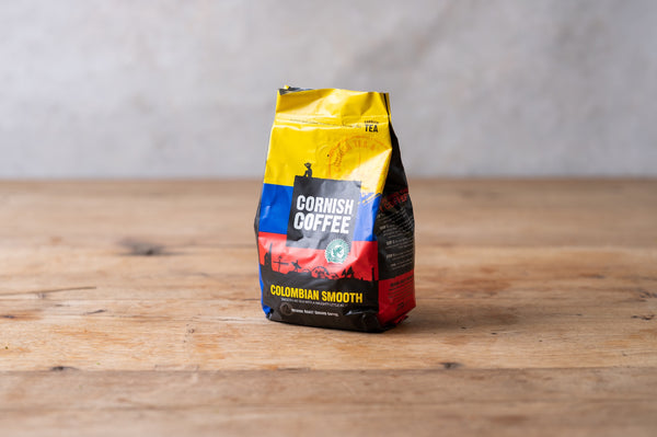 Cornish Coffee - Colombian Smooth Ground Coffee