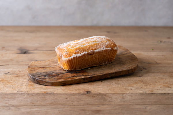 Lemon drizzle loaves