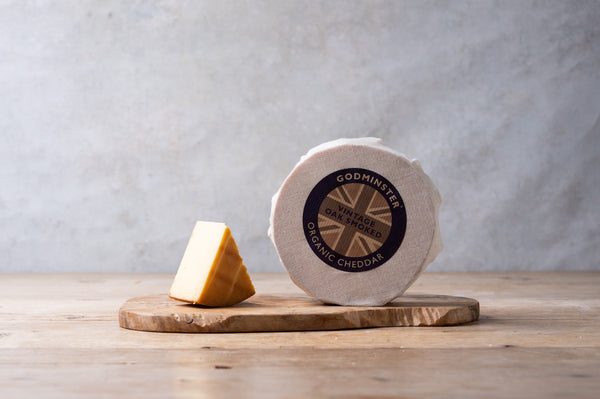 Godminster Oak Smoked Cheddar