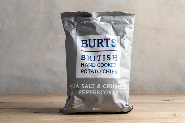 Burts Sea Salt & Black Pepper Crisps