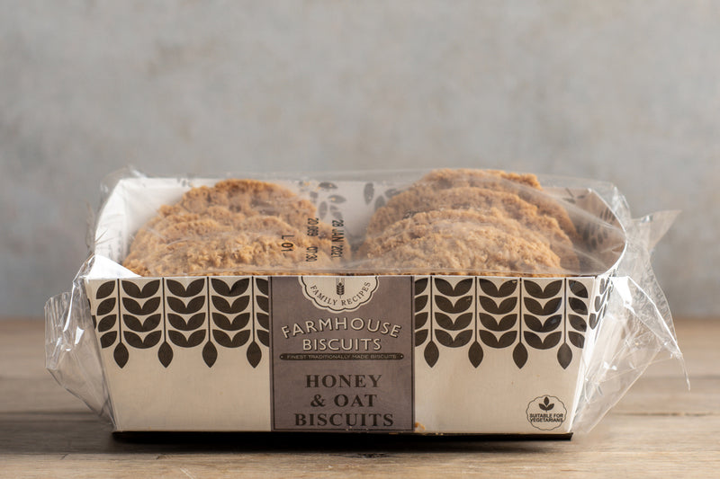 Farmhouse Honey & Oat Biscuits