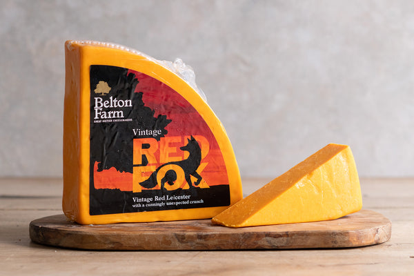 Vintage Red Fox Red Leicester