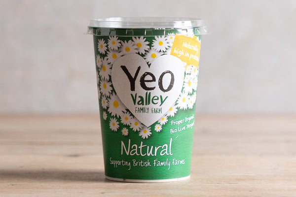 Yeo Valley Full Fat Natural Yoghurt