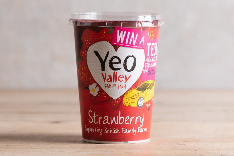 Yeo Valley Starwberry Yogurt