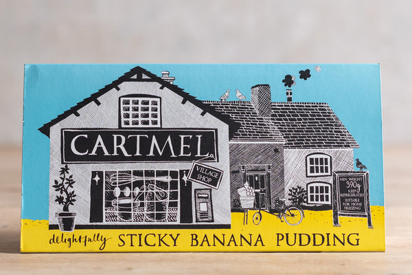Cartmel Sticky Banana Pudding
