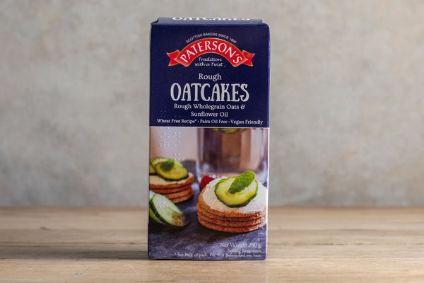 PATERSONS Rough Oatcakes 250g