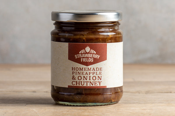 Homemade Pineapple & Onion Chutney