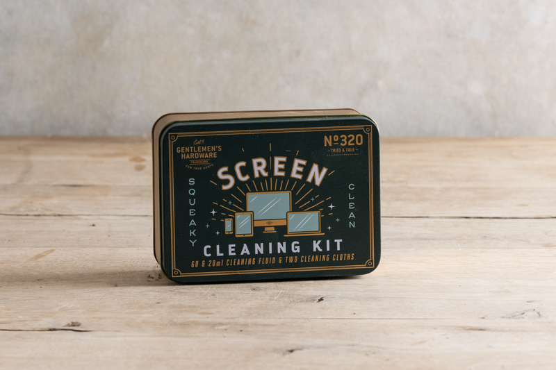 Gentlemen's Hardware Screen Cleaning Kit