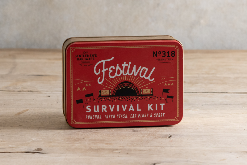 Gentlemen's Hardware Festival Survival Kit