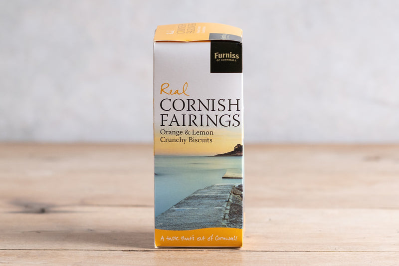 Real Cornish Fairings with Orange & Lemon
