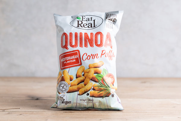 EAT REAL Quinoa Puffs - Mediterranean 113g