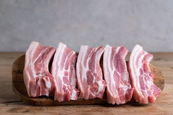 Cornish Pork Belly Strips