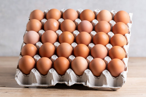 Tray of Free Range eggs