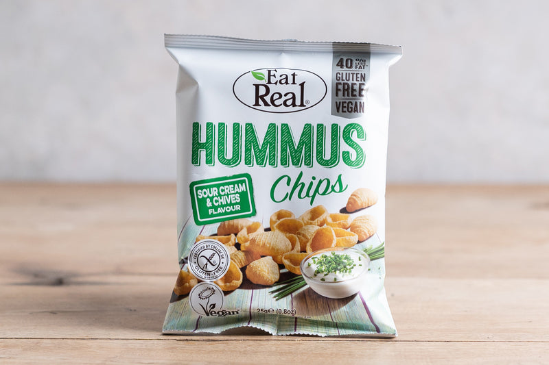 EAT REAL Hummus Chips - Sea Salt 135g