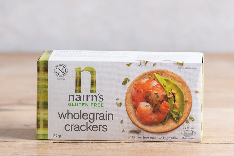 NAIRNS Nairns Gluten Free Wholegrain Crackers 137g