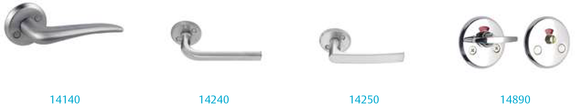 Door Handle - Accessories for HEMMA series 14990, key escuteon