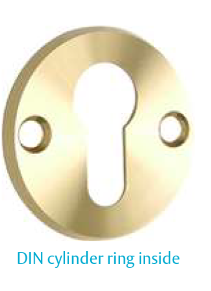 DIN Cylinder ring outside (EURO DIN handles and accessories)
