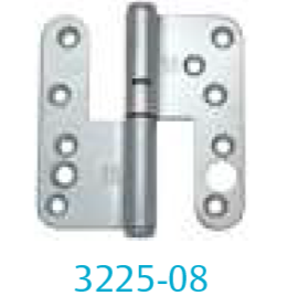 Hinge 3225-08 (for unrebated outward opening French doors)
