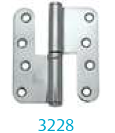 Hinge 3228 (for unrebated doors)