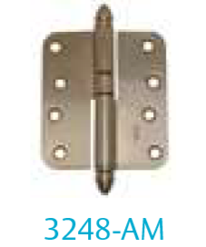 Hinge 3248-AM (for unrebated doors)