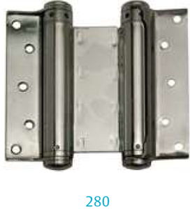 Hinge 280-150 mm (for one- and two-way swing doors)
