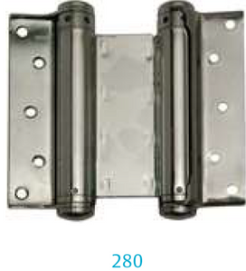Hinge 280-100 mm (for  one- and two-way swing doors)