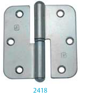 Hinge 2418 (for outward opening windows and unrebated lighter doors)