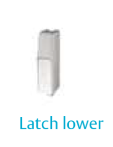 Panic Exit Device - Latch lower incl cover
