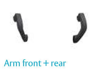 Panic Exit Device - Arm front + rear, pairs