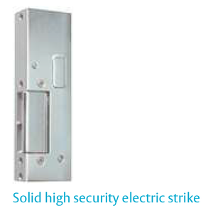 Solid High Security Electric Strike - 131/12V