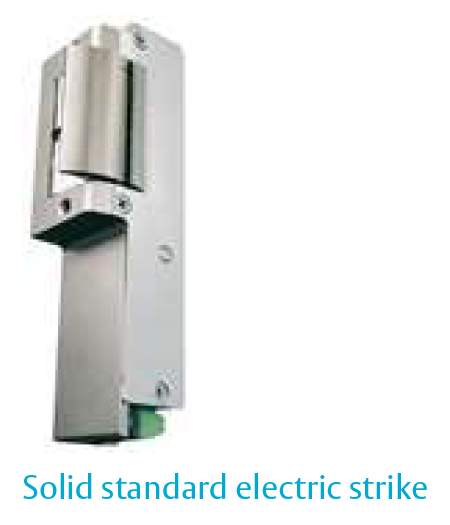 Solid Standard Security Electric Strike - 571/24V