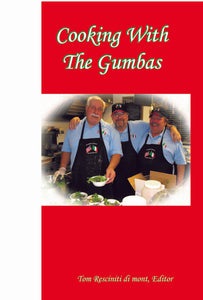 """Cooking With the Gumbas"" Book"