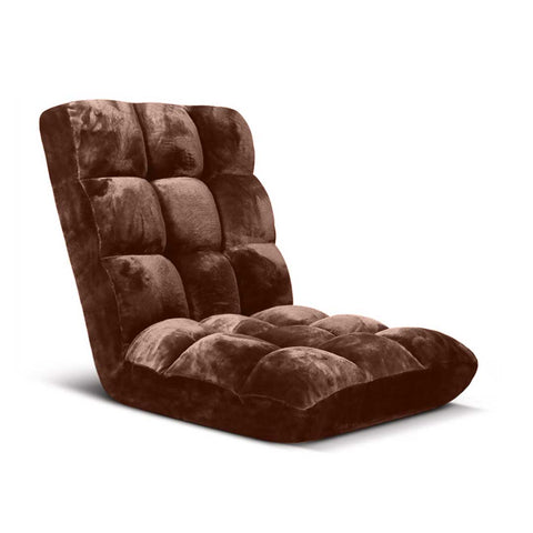 Floor Recliner Folding Lounge Sofa  Coffee
