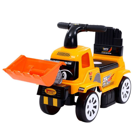 Kids Ride On Bulldozer Digger Toddler Toy Foot to Floor