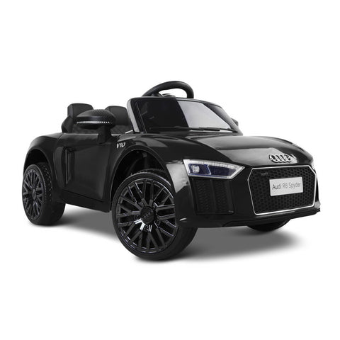 Audi Kids Ride On Car Audi R8 Licensed Electric 12V Black