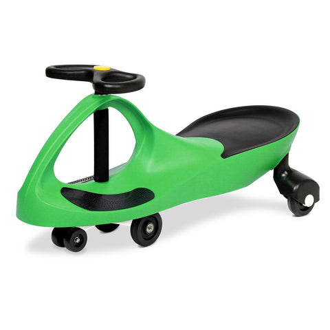 Kids Ride On Swing Car  -Green