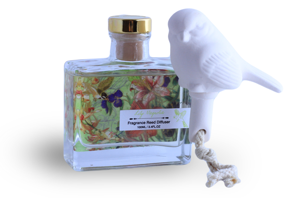 Bird Soaked Fragrance Diffuser - Lily Magnolia