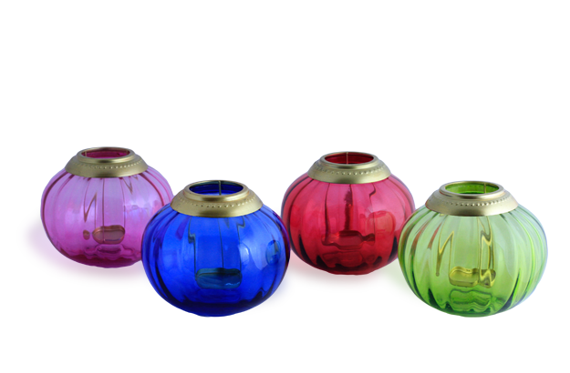 Moroccan Candle Lamps - Set of 4