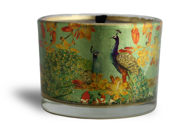 Three Wick Candle - Waterlily, fig & almond flower infusion