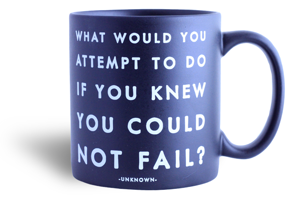 Quotable Mug - What Would You Attempt …