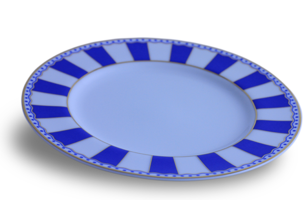 Mini Plate - Noritake blue & white
