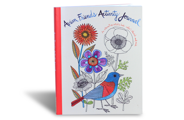 Interactive Artist Journal - colour, sketch & write