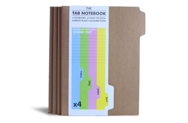 The Tab Notebook