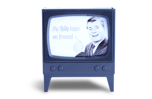 Telly Memo Holders - Black