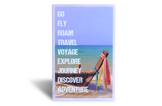 Travel Journal - Go Fly, Roam, Travel, Voyage, Explore...