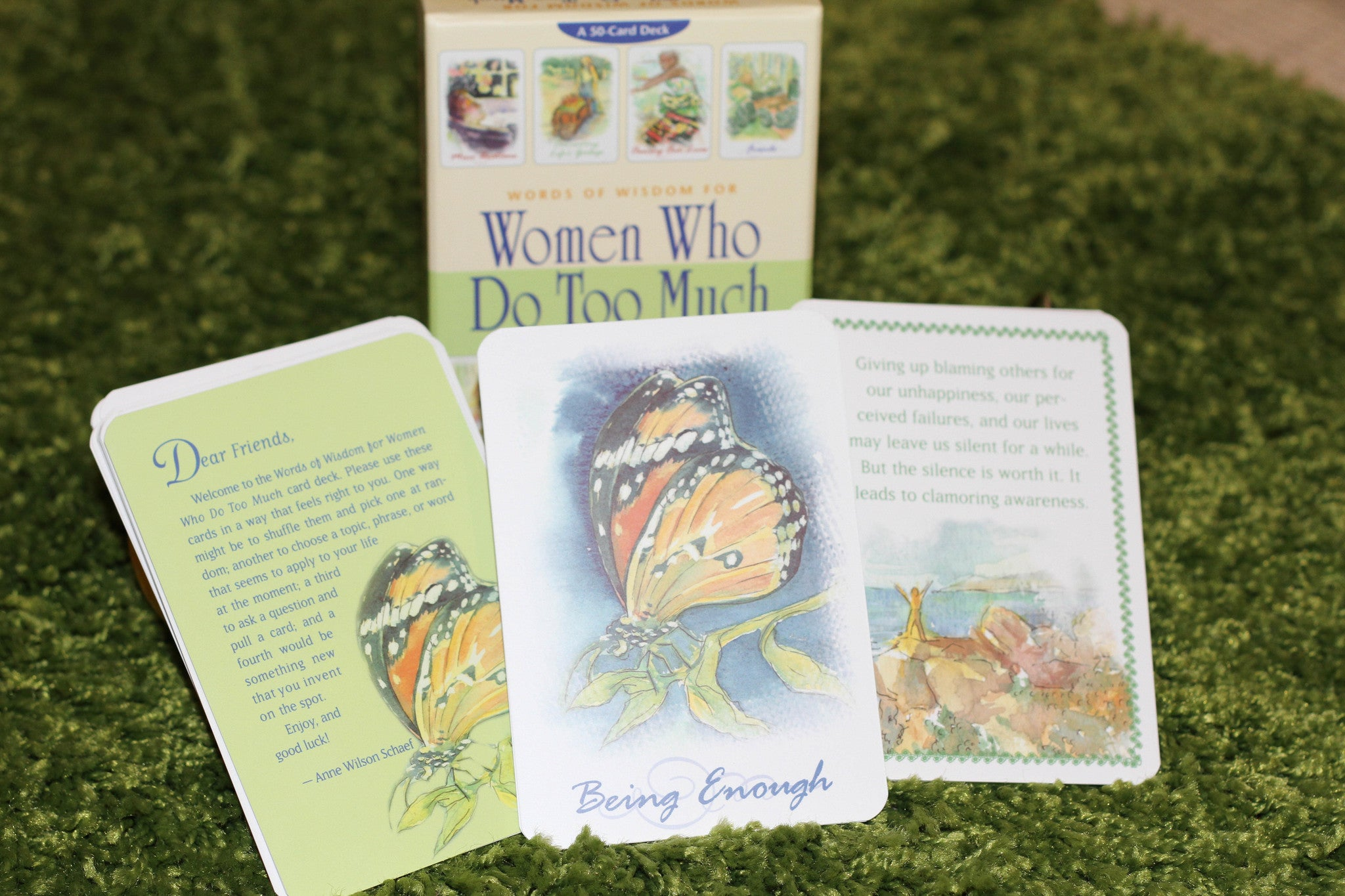 Women Who Do To Much - Words of wisdom deck